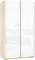 Шкаф-купе Прайм 2-х дверный (фасад стекло)