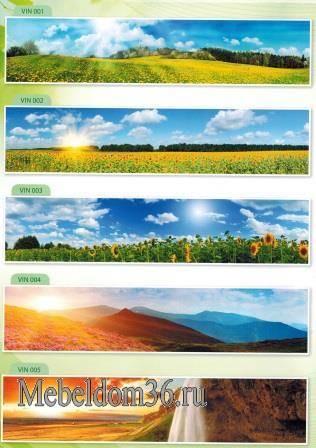 Стеновые панели (фартуки) МДФ природа
