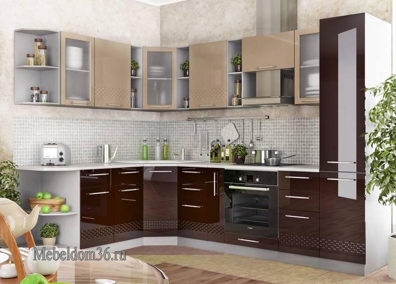 Кухня Капля угловая