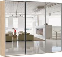 Шкаф-купе Эста 3-х дверный 12 зеркал