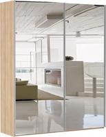 Шкаф-купе Эста 2-х дверный 8 зеркал