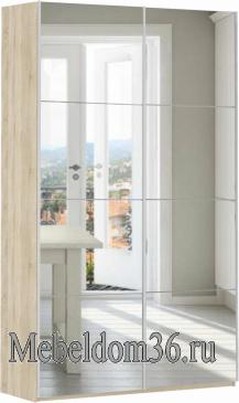 Шкаф-купе Прайм 2-х дверный (фасад зеркало)