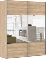 Шкаф-купе Эста 2-х дверный 4 зеркала