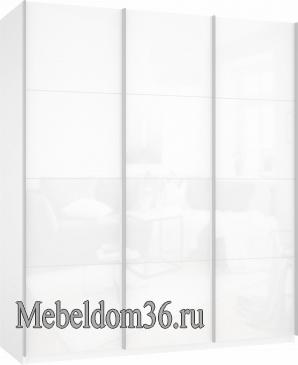 Шкаф-купе Прайм 3-х дверный (фасад стекло)