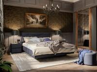 Спальня Джолин Графит
