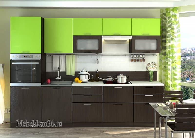 Кухня Валерия М-1 лайм
