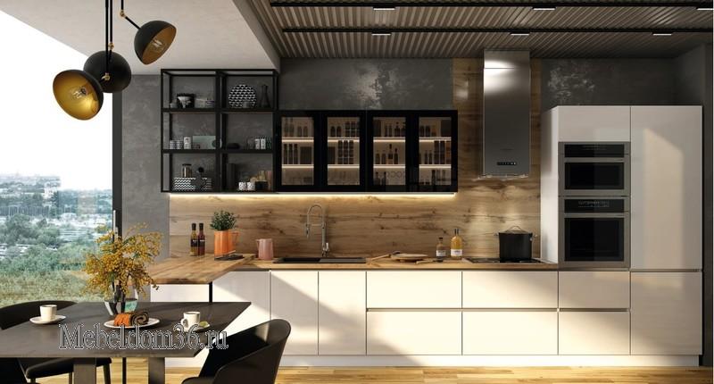 Кухня Голд со смарткубами