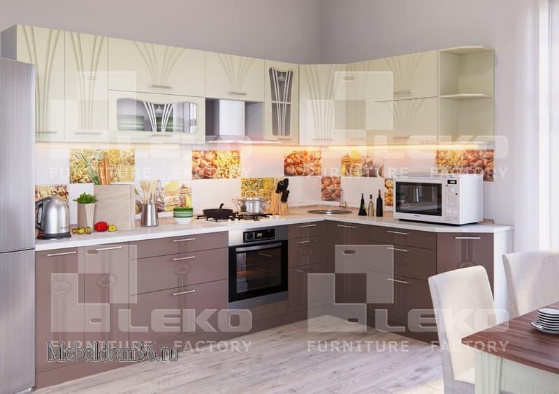 Кухня Лира 3 (угловая)