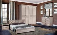 Спальня Лючия (Дуб Оксфорд серый)