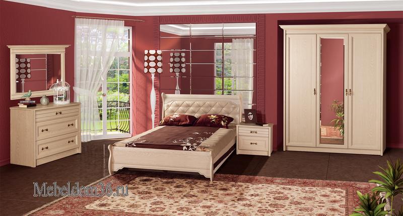 Спальня Флоренция (Дуб Гарвард)